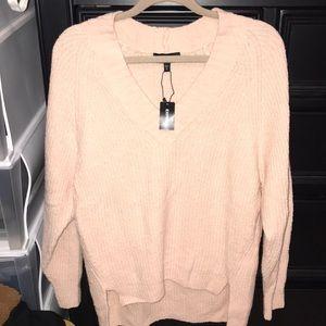 NWT! Express oversized deep v sweater